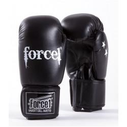 Боксови ръкавици FORCE 1 черни F-1000