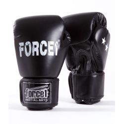Боксови ръкавици FORCE 1 черни F-1002