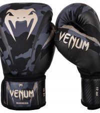 Боксови Ръкавици - Venum Impact Boxing Gloves - Dark Camo/Sand​