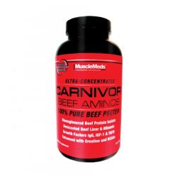 Muscle Meds Carnivore Beef Amino 300 tabl.