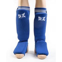 SZ Fighters Протектори за крака тип чорап - син ластик