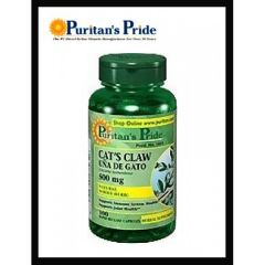 Puritan's Pride Cat's Claw 100 tabs.