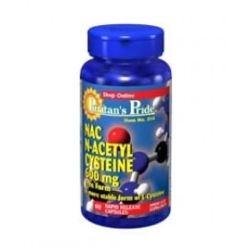 Puritan's Pride N-Acetyl Cysteine 30 tabs.