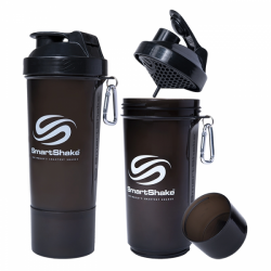 Smart Shake - Slim Gunsmoke Black 600ml.