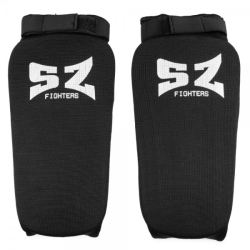 SZ Fighters Протектор за крака - черен ластик