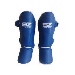 SZ Fighters Тай протектори за крака сини