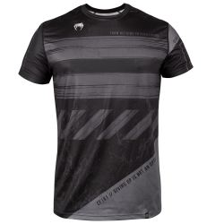 ТЕНИСКА - VENUM AMRAP DRY TECH T-SHIRT - BLACK/GREY